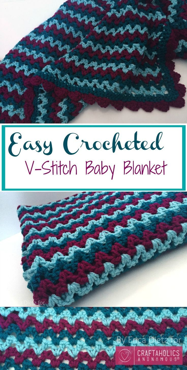 Knitting Vs Crocheting Which Is Easier : Best baby blanket patterns images on pinterest