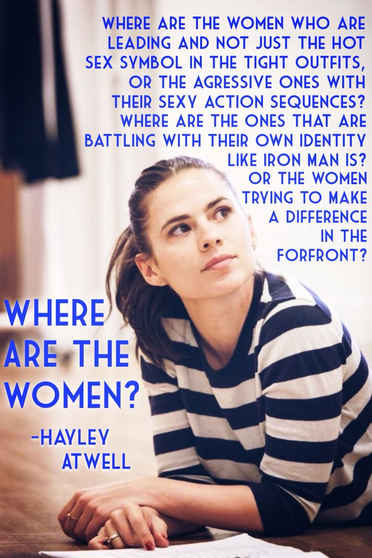 Quote by Hayley Atwell