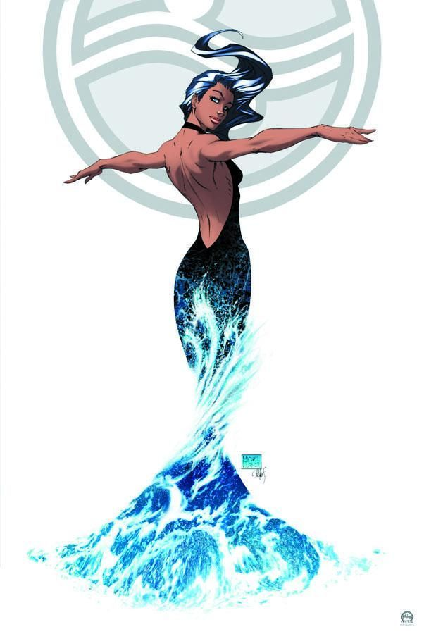 Aspen by Michael Turner....... would make a great Aquarius symbol.
