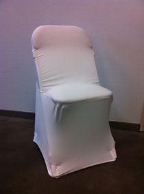 Housses de chaise LYCRA qui s'adaptent presque sur toutes les chaises, en location chez ATOUT RECEPTION! www.atoutreception.fr