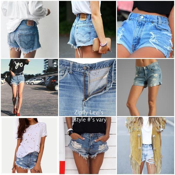 De 25  bedste idéer inden for Cut Jean Shorts på Pinterest ...