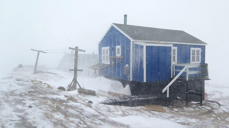 EAST GREENLAND # Tasiilaq # Blue House # Photo by Ulrike Fischer