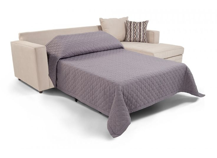 Neptune 2 Piece Left Arm Facing Bob-O-Pedic Gel Sleeper Sectional | Living  sc 1 st  Pinterest : bobs luna sectional - Sectionals, Sofas & Couches