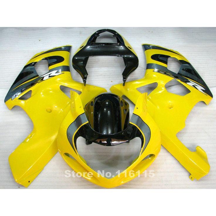 330.28$  Watch more here  - Fairings set for SUZUKI GSXR600 GSXR750 K1 2001 2002 2003 GSXR 600 750 01 02 03 yellow black high grade fairing kit Q788