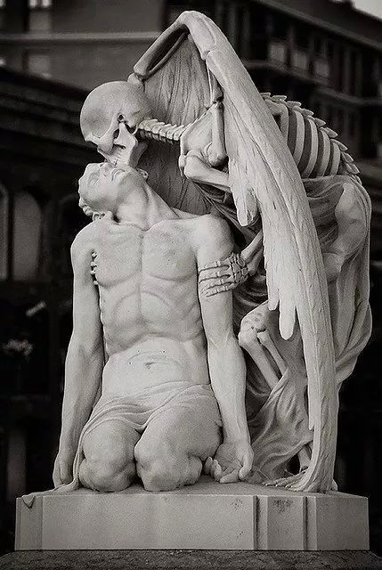 the kiss of death...
