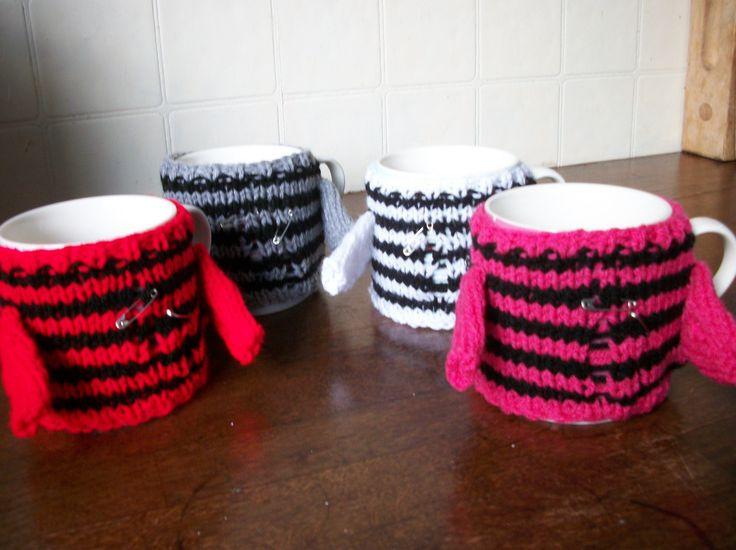 Punk Rock Cup Cosy - Choose Colour, £4.99