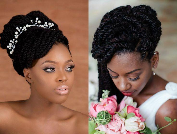 Spring Season Box Braids Wedding Hairstyles 2017