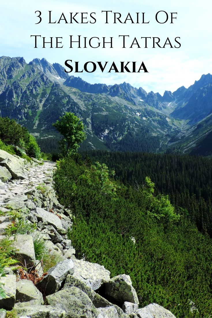 In our opinion this hike is the best introduction to the High Tatras. It's not too hard but very scenic all the way and it's also flexible because you can choose to do only part of it and still have an amazing experience.