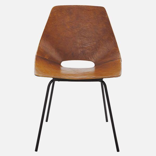 1000 id es sur le th me chaises en cuir marron sur for Chaise cuir marron