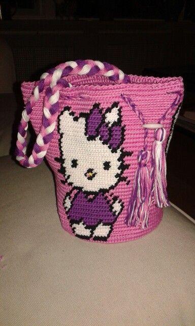 Wayuu Mochila bag Hello Kitty tas