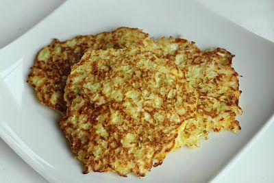 Healthy Hashbrowns (try with radishes or zucchini with egg and parmesan cheese)