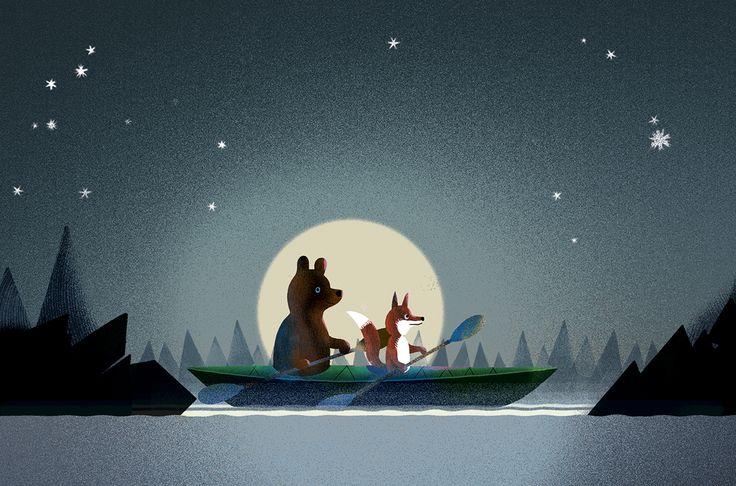 Bear & Fox more on Behance