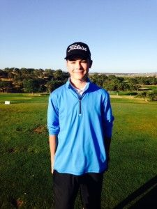 FCWT junior golfer Brian Stark earned his 3rd FCWT junior golf tournament title at Hunter Ranch 2015