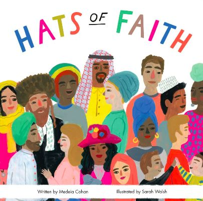 This book is a beautifully illustrated introduction to the shared custom of head covering. Using accurate terminology, phonetic pronunciations and bright, beautiful imagery, Hats of Faith helps educate and prepare young children and their parents for our culturally diverse modern world. The book celebrates head coverings from faiths including: • Christian • Jewish • Muslim • Rastafarian • Sikh Hats of Faith is a 12 page, 18cm x 18cm sturdy board book, perfect for rough and tumble babies and…
