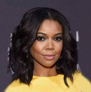 """14"""" Wavy Medium Wigs For African American Women The Same As The Hairstyle In The Picture #wavybobhaircut"""