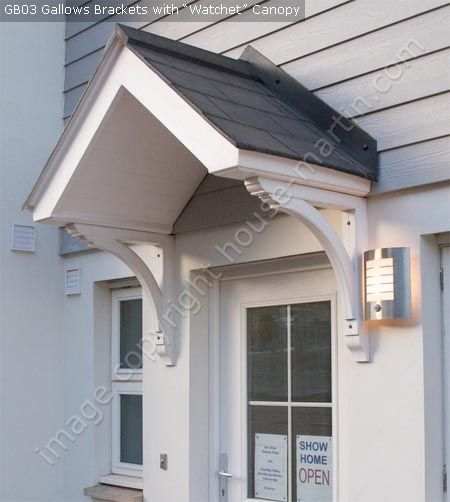 Pin by katie fishwick on exterior of house pinterest for Exterior house brackets