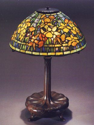 A reference source for antique stained glass leaded lamps original examples of the best lamps from the best lamp makers including tiffany studios duffner