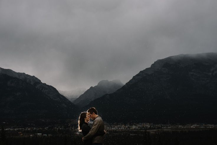 Canmore more engagement photography by Abby Plus Dave.