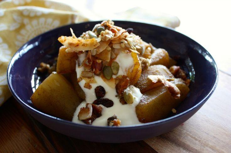 Simple stewed pears I mamacino.com
