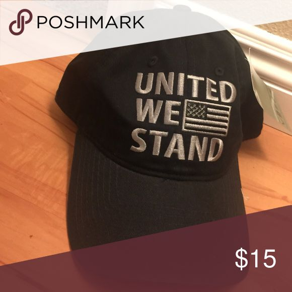 Black America dad hat. Black America strap back. United we stand. Brand new. Never worn. Accessories Hats