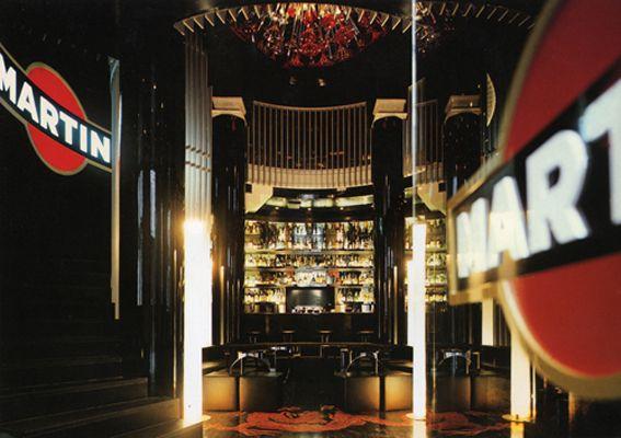 Мартини-бар в миланском бутике Dolce&Gabbana