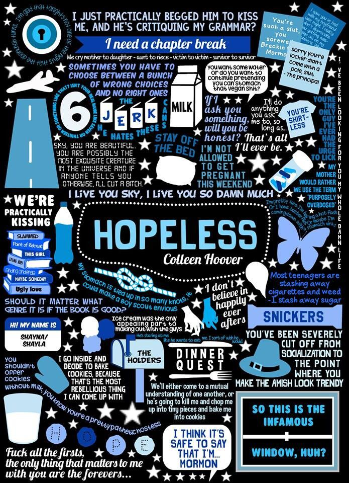 Hopeless by Colleen Hoover was the best book I have read in a long time love all these sayings from the book❤️