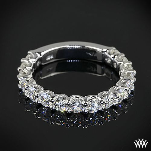 Marry Me - Annette's U-Prong 3/4 Eternity Diamond Wedding Ring