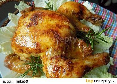 Sváteční kuřátko recept - TopRecepty.cz