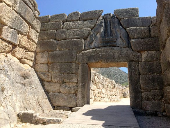 Grecia-Micenas-Puerta-Leones
