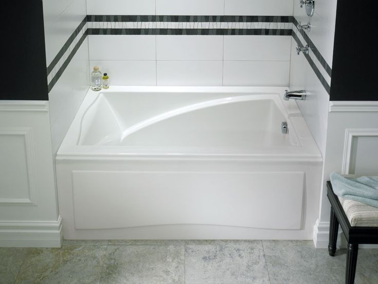 Kohler Greek 4 Ft Bathtub   Small Bathtub For Master