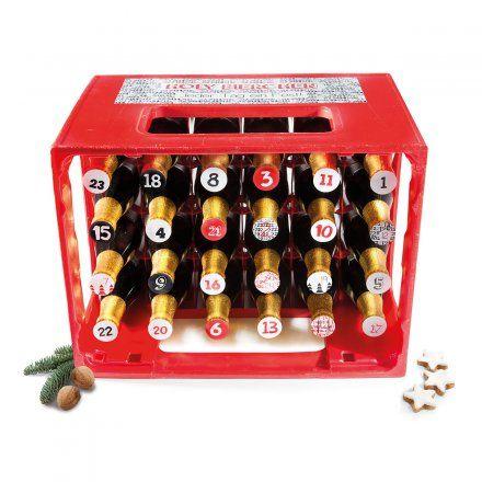 Adventskalendersticker Holy Bierchen: 24 Sticker, die einen Standard-Bierkasten in einen Adventskalender verwandeln. Für Männer, Bier, Beer, Adventskalendergeschenke