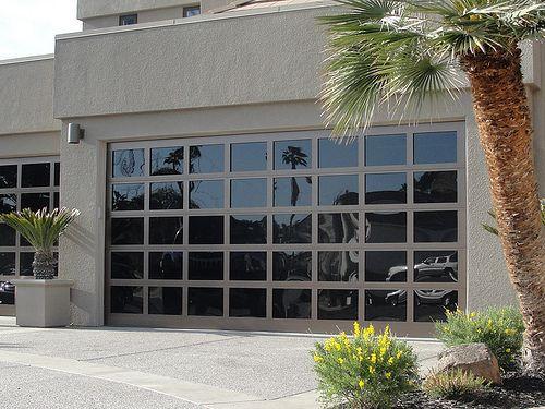 Garage Doors Athena Glass Ironstone Metalic Finish | Flickr ...