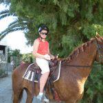 Paardrijden op Kreta Griekenland