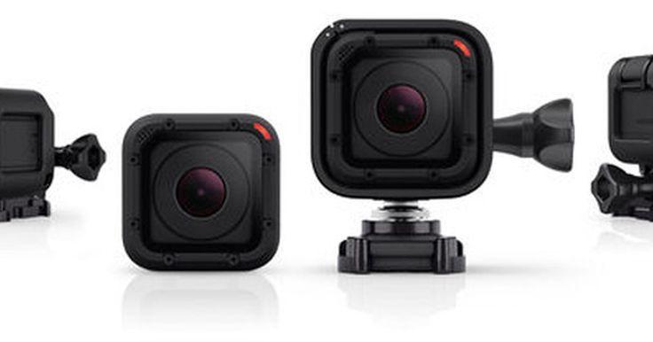 GoPro lança Hero4 Session, câmera menor, mais leve e à prova d'água