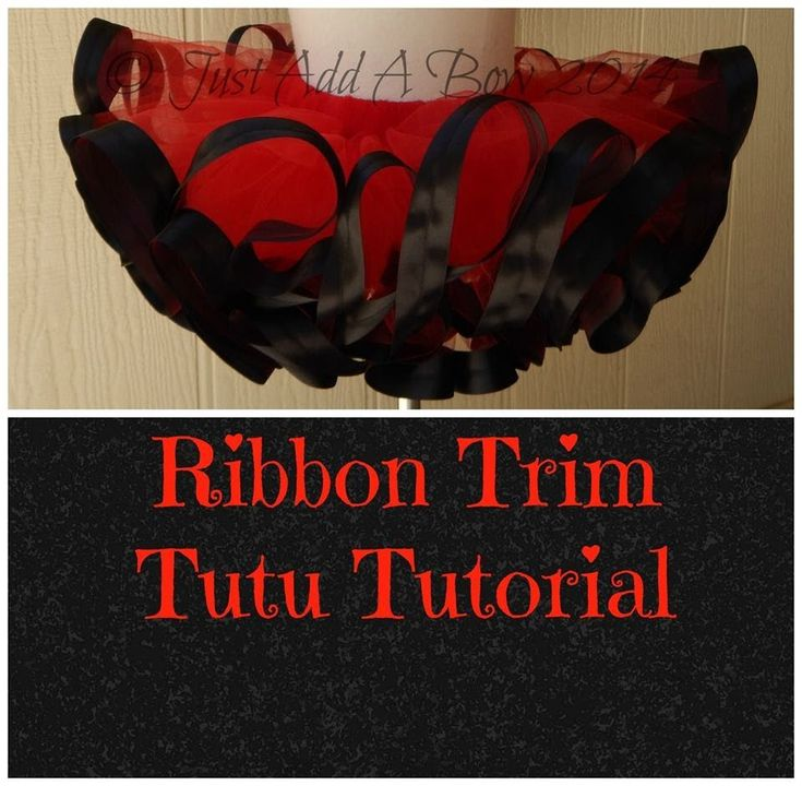HOW TO: Make a Ribbon Trim Tutu by Just Add A Bow (+playlist)
