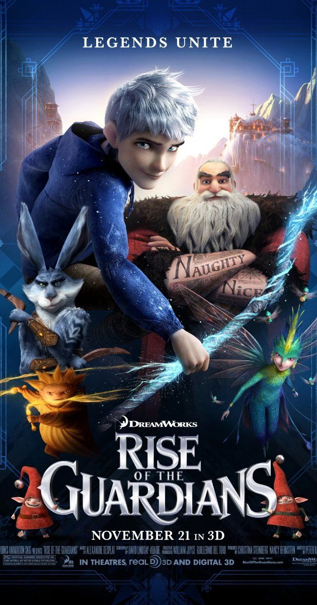 Rise of the Guardians (2012) With Cameron, Isabel, Donovan, Braeden and Preston... Yep a full house tonight, loving it too!