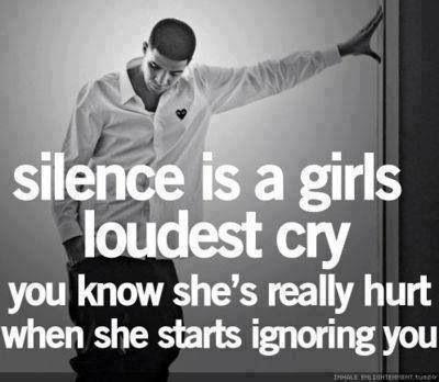 Silence is deadly lol