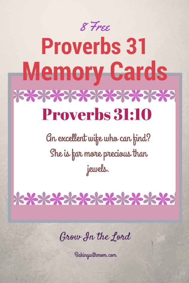 Proverbs Free Bible Study Worksheets-Chapter 1-31