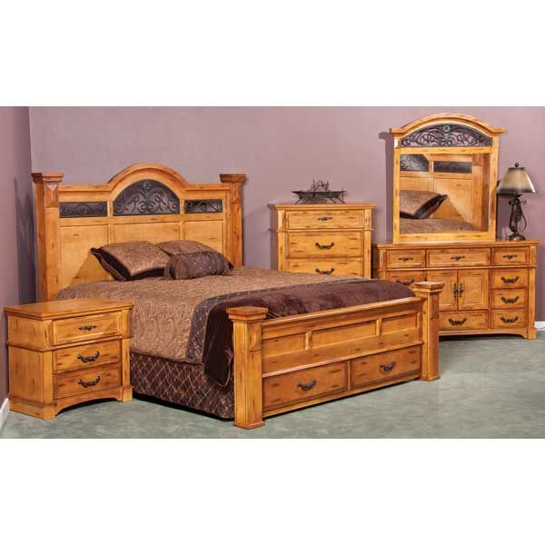 Weston 5 piece bedroom set 425 5pcset american furniture for American furniture store