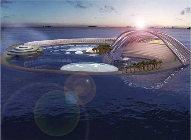 Уникальный подводный отель в Дубаи