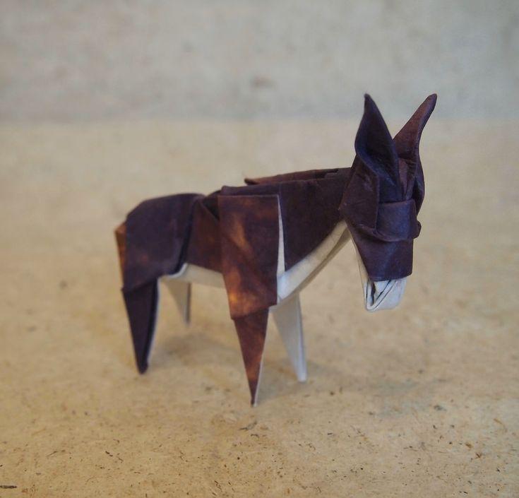 Origami Donkey Instructions Origami Tutorial Lets Make It