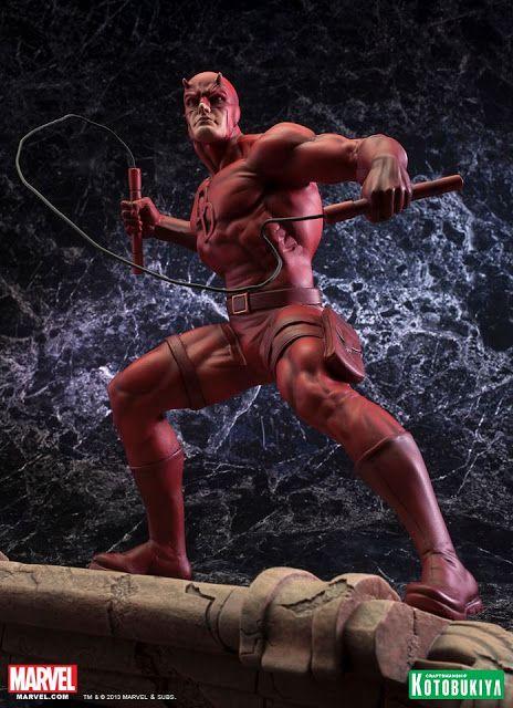 NEWS: Kotobukiya's Daredevil Fine Art Statue