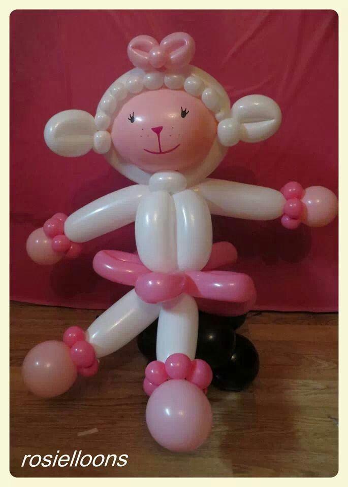 Balões - mais uma ideia para a sua utilização.   http://balaomania.pai.pt/ https://www.facebook.com/balaomania  Lamb Twist Balloon
