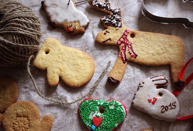 Имбирное новогоднее печенье - Полавкам. Gingerbread cookies.