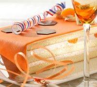 Bloedsinaasappel bavaroise taart - Desserts - Recepten | Deleukstetaartenshop.nl