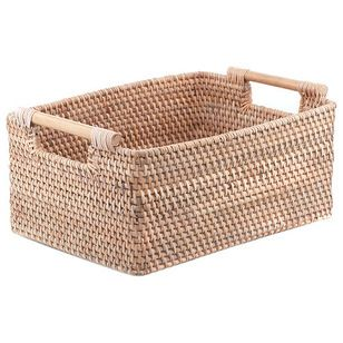 Thank you @Houzz for featuring our hand-woven Handle Basket  as a solution to Organize with Square Baskets and Bins!  http://www.houzz.com/ideabooks/33364233/list/shop-houzz-create-your-perfect-pantry  http://www.houzz.com/photos/17796891/Handle-Basket-eclectic-baskets
