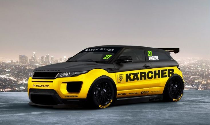 #BTCC Thorney Motorsport's concept for NGTC Range Rover Evoque!