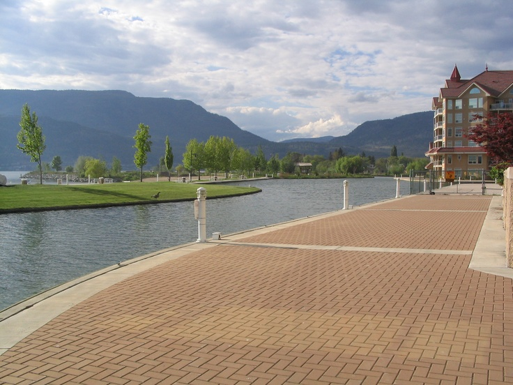 No place better to live!!  Kelowna, B.C., Canada.... my families favorite place to walk :)