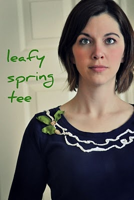 Leafy Spring Tee: Closet