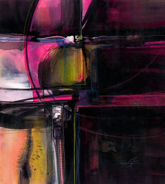 Dream Journey no. 101 - Large Original Abstract Acrylic Painting on canvas by Kathy Morton Stanion EBSQ